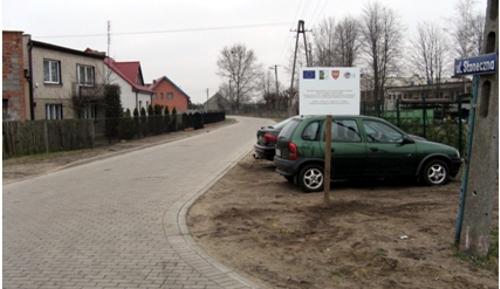 OiRW Chocz Przebudowa ul. Słonecznej 2013