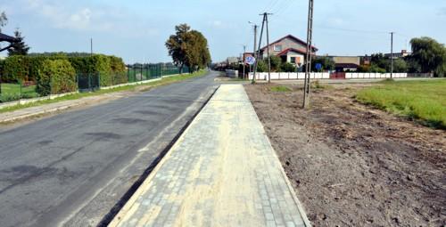 Budowa ścieżki rowerowej Czermin Etap I 2014