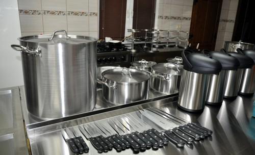 Doposażenie zaplecza kuchennego w Ośrodku Kultury w Czerminie 2014