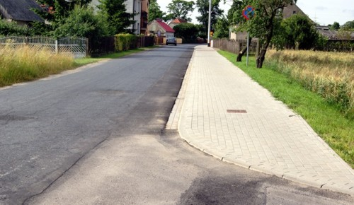 Budowa ścieżki rowerowej Niniew- Gizałki- Leszczyca