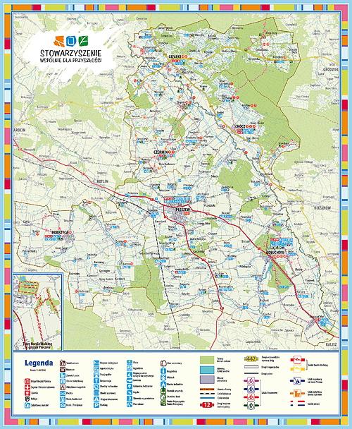 Mapa Turystyczna LGD Pleszew A