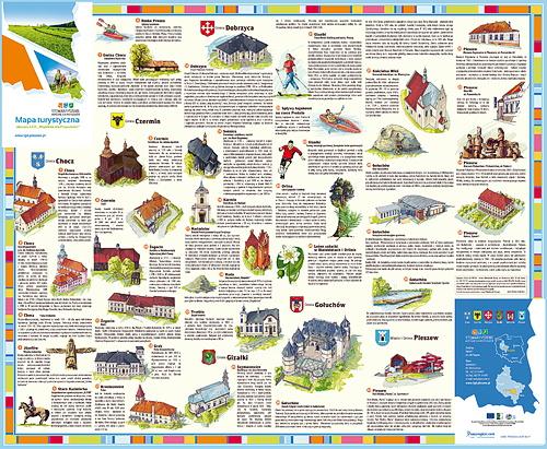 Mapa Turystyczna LGD Pleszew B