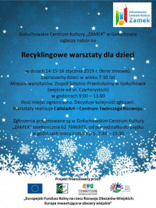 Recyklingowe warsztaty dla dzieci